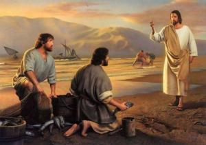 Jesus llama a sus discípulos