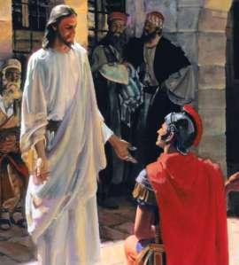 CENTURION SUPLICA A JESUS