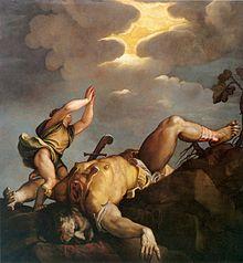 David vence a Goliat