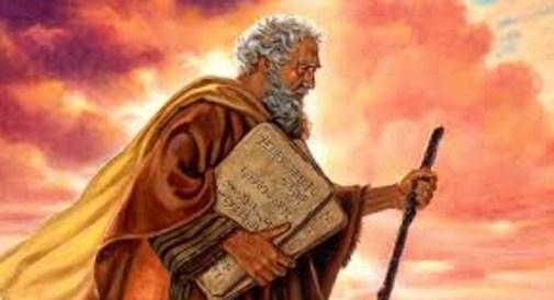 el rostro de Moisés